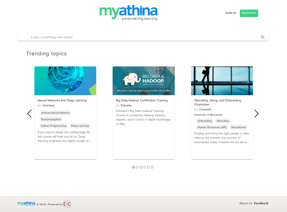 MyAthina screenshot